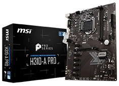 MSI H310-A Pro Motherboard