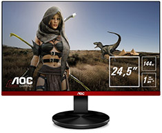 AOC G2590PX FHD 144Hz FreeSync 25in Monitor