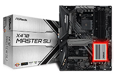 ASRock X470 Master SLI Motherboard