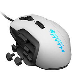 Roccat Nyth Modular MMO Gaming Mouse - White