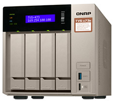 QNAP TVS-473E-4G 4 Bay NAS with 4GB RAM