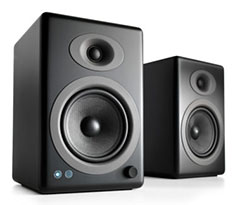 Audioengine 5+ Premium Wireless Speakers Black