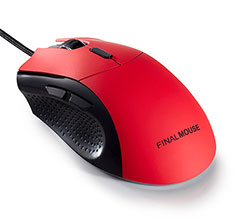 Finalmouse Classic Ergo 2 Gaming Mouse Red