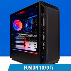 PCCG Fusion 1070 Ti Gaming System