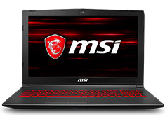 MSI GV62 Series 15.6in Gaming Laptop [8RC-059AU]