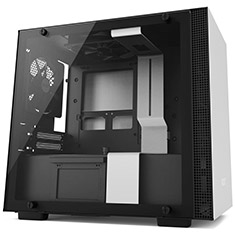 NZXT H200 Mini-ITX Case White/Black