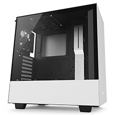NZXT H500 Mid Tower Case Matte White