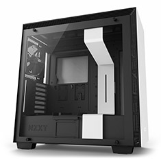 NZXT H700 Mid Tower Case Matte White