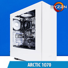 PCCG Arctic 1070 Gaming System