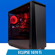 PCCG Eclipse 1070 Ti Gaming System