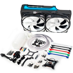 Swiftech H240X3 Edge Prestige 280mm Liquid Cooling Kit