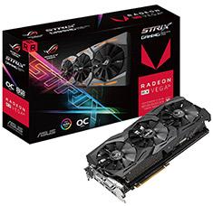 ASUS ROG Radeon RX Vega 56 Strix Gaming OC 8GB