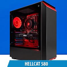 PCCG Hellcat 580 Gaming System