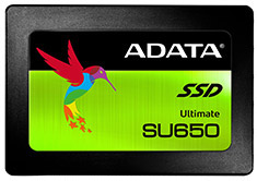 ADATA SU650 2.5in SATA SSD 480GB