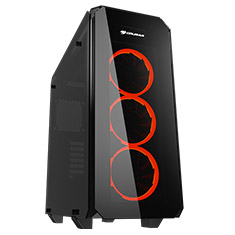 Cougar Puritas Tempered Glass Mid Tower