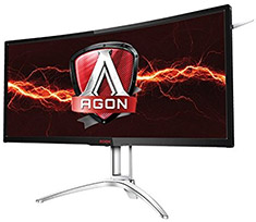 AOC AG352UCG6 UWQHD G-Sync 120hz Curved 35in VA Gaming Monitor