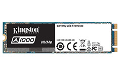 Kingston SA1000 M.2 NVMe SSD 480GB
