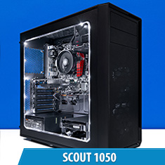 PCCG Scout 1050 Gaming System