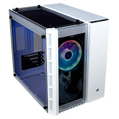 Corsair Crystal Series 280X RGB mATX Case White