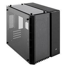 Corsair Crystal Series 280X Tempered Glass mATX Case Black