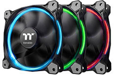 Thermaltake Riing 12 LED RGB Radiator Fan Sync 3 Pack (Open Box)