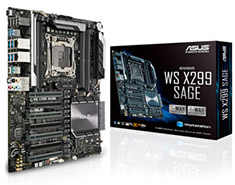 ASUS WS X299 Sage Workstation Motherboard
