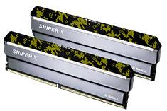 G.Skill Sniper X F4-3600C19D-16GSXKB 16GB (2x8GB) DDR4 Digital
