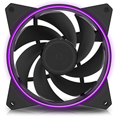 Cooler Master MasterFan MF122R 120mm Ring LED RGB Fan