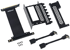 CableMod Vertical PCI-e Bracket - 2 x DisplayPort