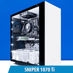 PCCG Sniper 1070 Ti Gaming System