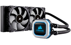 Corsair Hydro Series H100i Pro 240mm Liquid CPU Cooler