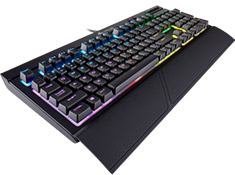 Corsair K68 Mechanical Gaming Keyboard RGB LED Cherry MX Blue