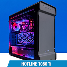 PCCG Hotline 1080 Ti Gaming System