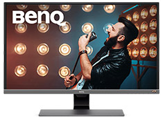 BenQ EW3270U UHD Freesync HDR 32in Monitor