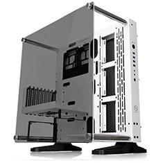 Thermaltake Core P3 TG Snow Edition ATX Open Frame Chassis