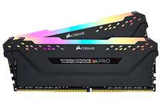 Corsair Vengeance RGB Pro 16GB (2x8GB) 2666Mhz CL16 DDR4