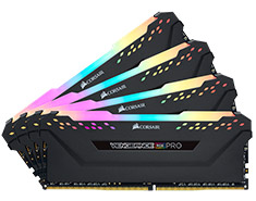 Corsair Vengeance RGB Pro 32GB (4x8GB) 3200MHz CL16 DDR4