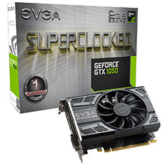 EVGA GeForce GTX 1050 SC GAMING 2GB