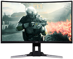 Acer XZ321QU QHD 144Hz FreeSync 32in VA Gaming Monitor