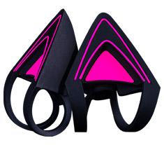 Razer Kitty Ears for Razer Kraken Neon Purple