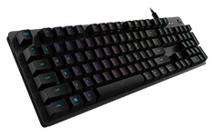 Logitech G512 Carbon RGB Mechanical Gaming Keyboard Tactile