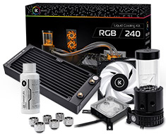 EK KIT 240 RGB Liquid Cooling Kit
