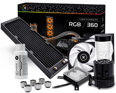 EK KIT 360 RGB Liquid Cooling Kit