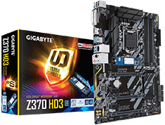 Gigabyte Z370 HD3 Optane Motherboard