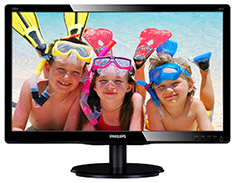 Philips 200V4QSBR FHD 20in VA Monitor
