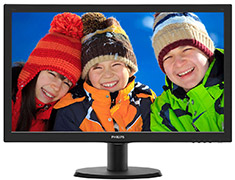 Philips 243V5QHABA FHD 24in Monitor