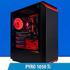 PCCG Pyro 1050 Ti Gaming System