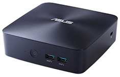 ASUS VivoMini UN68U i7-8550u Mini PC with Windows 10 Pro