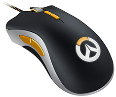 Razer DeathAdder Elite Gaming Mouse Overwatch Edition