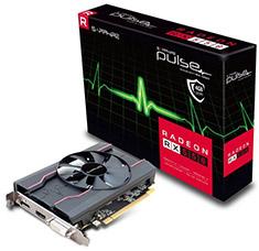 Sapphire Radeon RX 550 Pulse 4GB